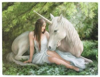 Pure Heart Unicorn Canvas