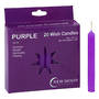 Wish Candle 1.25cm x 10cm (20 Pack) Purple