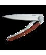 Deejo Knife Rosewood Wood 37g