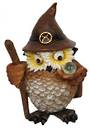 Old Wizard Owl With Crystal Ball