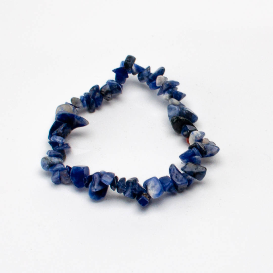 Beautiful Sodalite Chip Bracelet