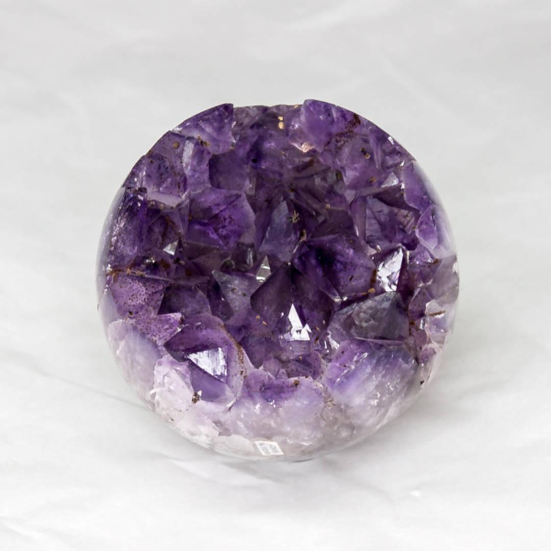 Amethyst Druze Sphere
