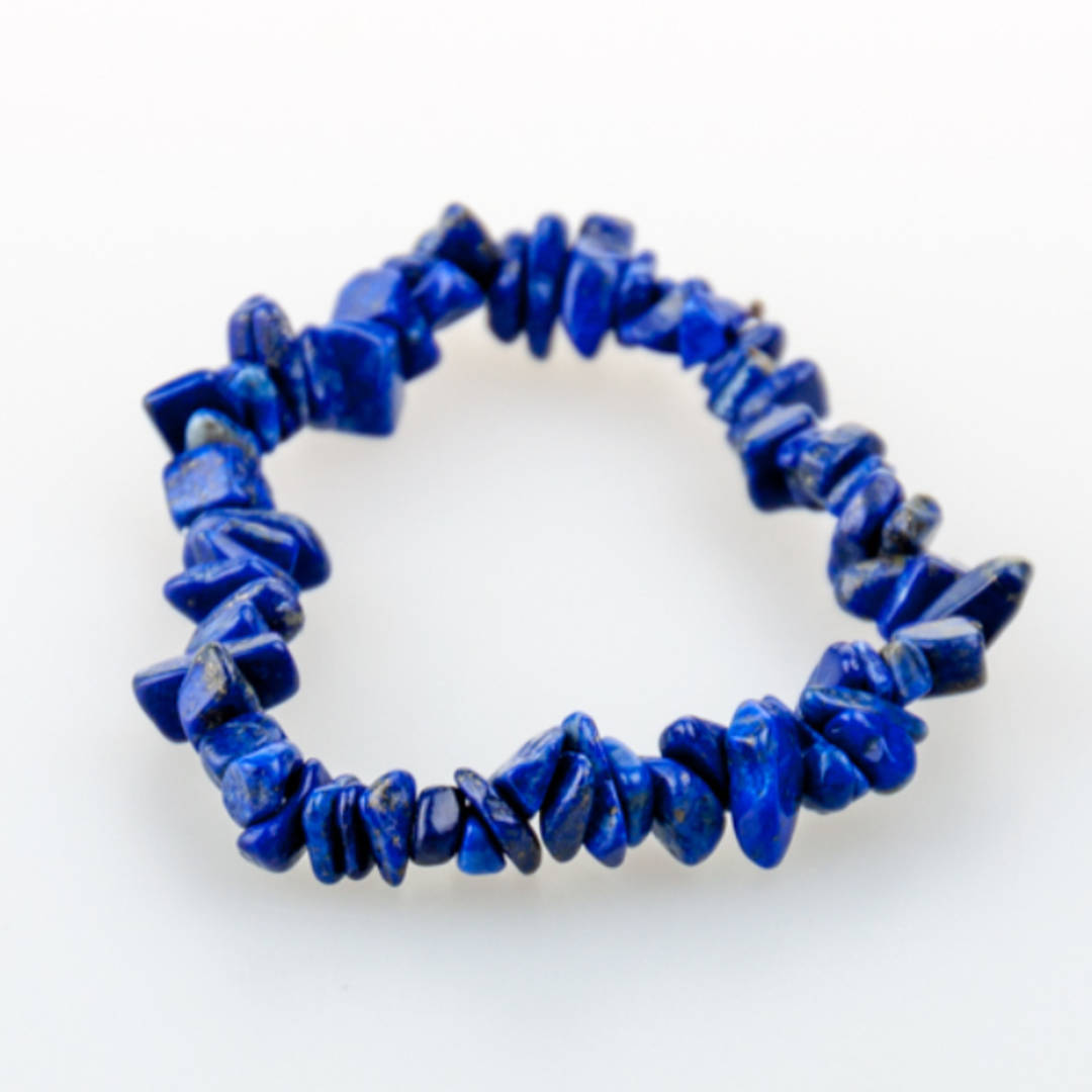 Lapiz Lazuli Chip Bracelet
