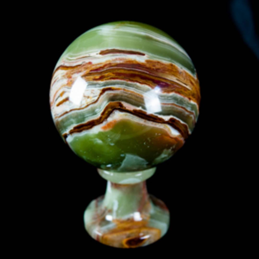 Marble Onyx Sphere