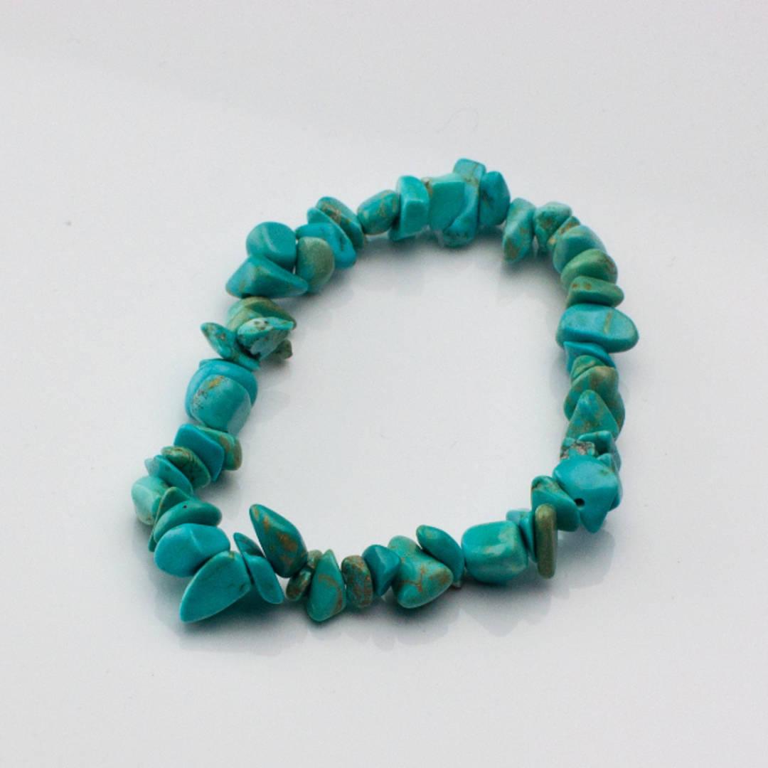 Howlite (Blue) Chip Bracelet
