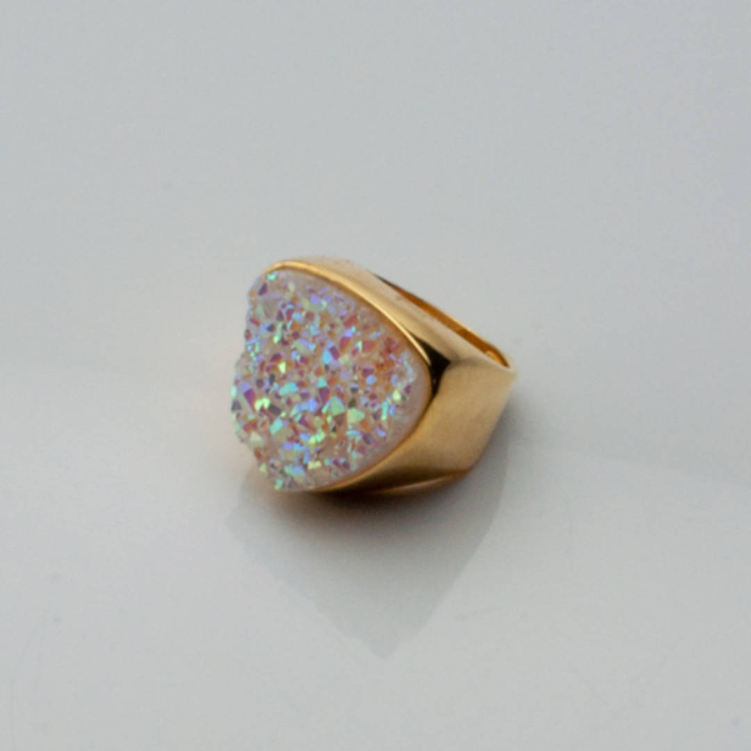 Gold Fill Druze Ring.