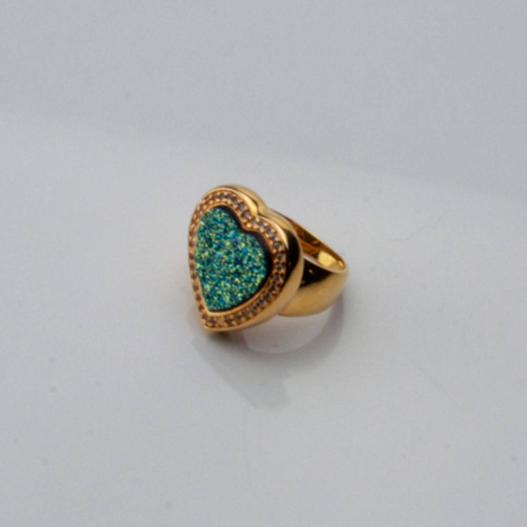 Gold Fill Druze Ring