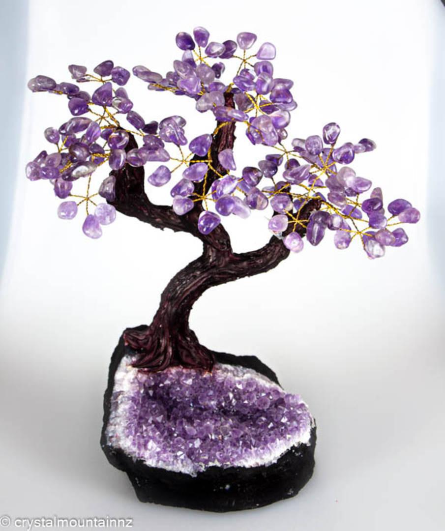 Large Amethyst Tree