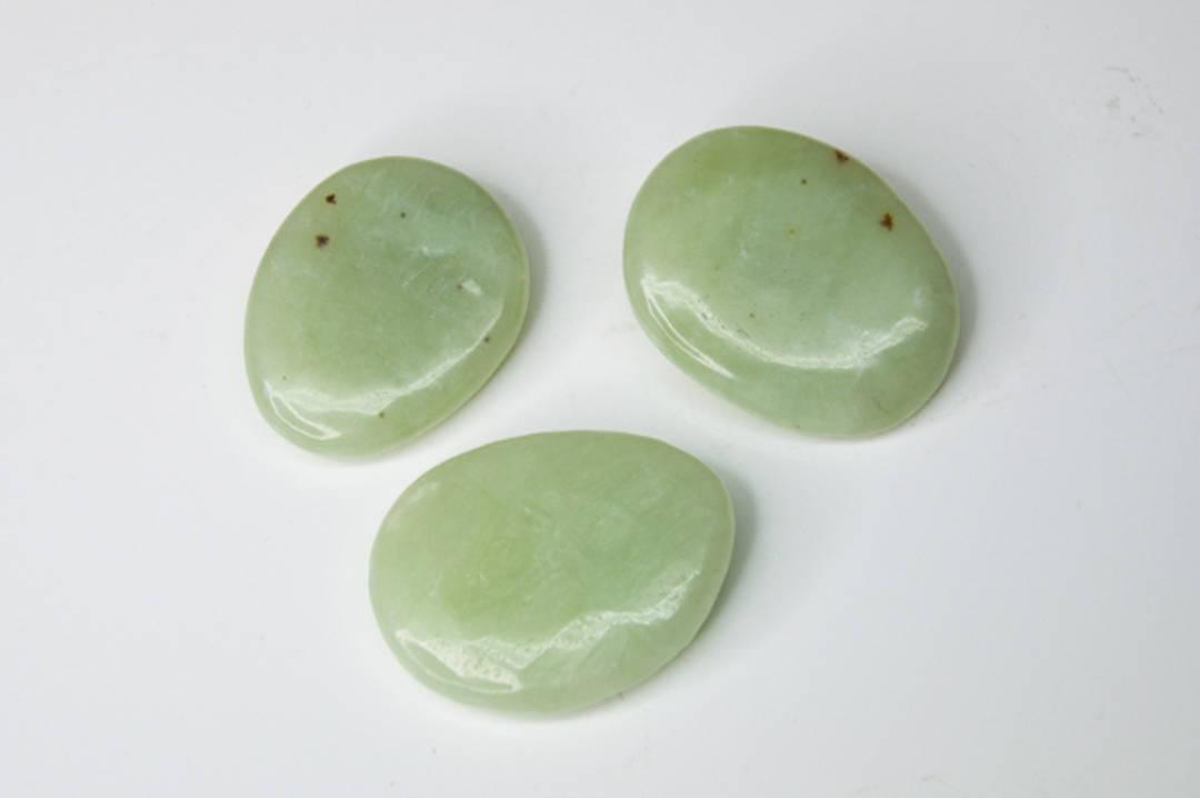 Polished Chinese Jade PalmStone