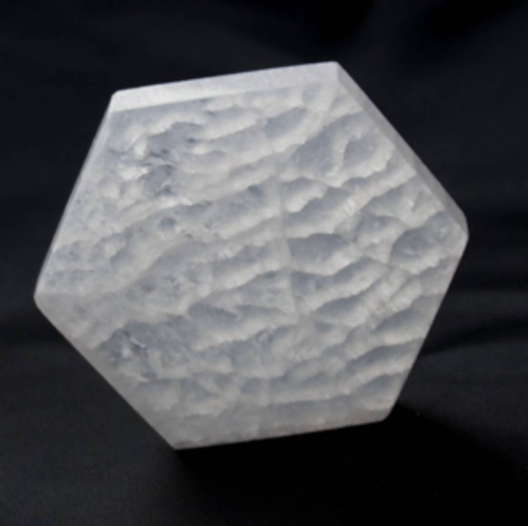 Polished Selenite Plate