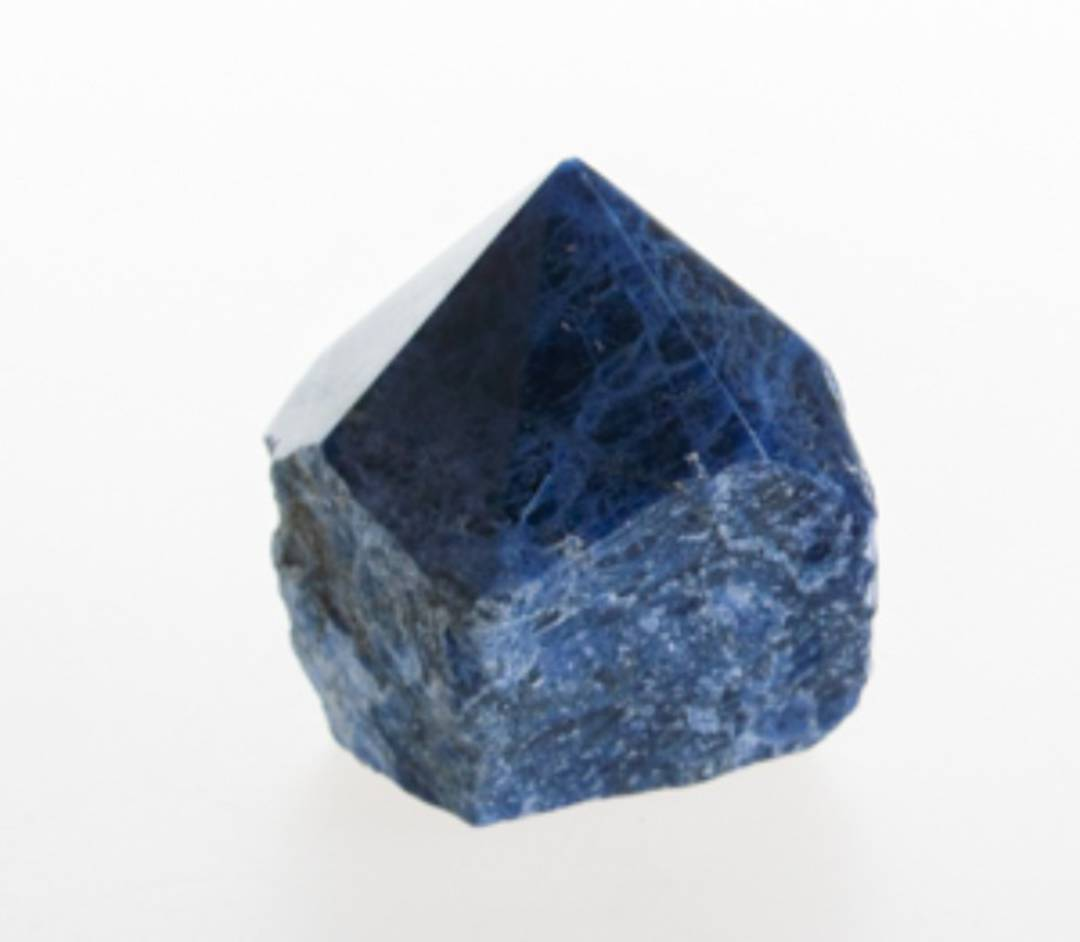 Sodalite Part Polished Point