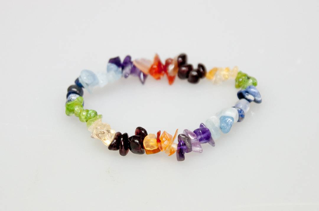Mixed Stones Chip Bracelet