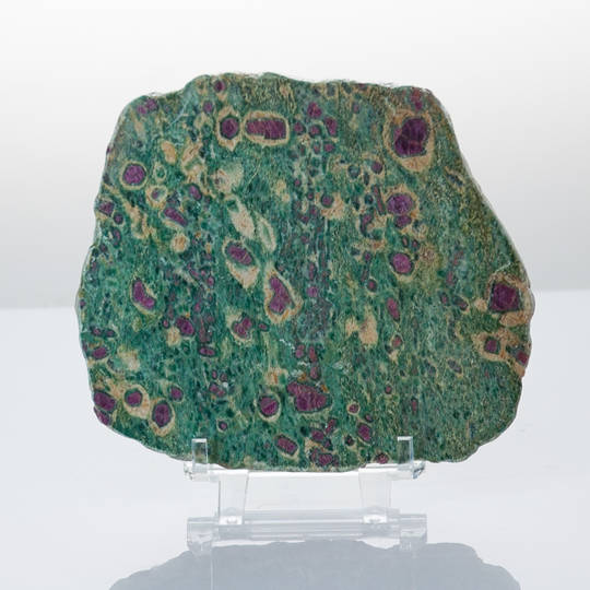 Ruby Fuchsite Slice