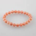 Sunstone Round Bead Bracelet