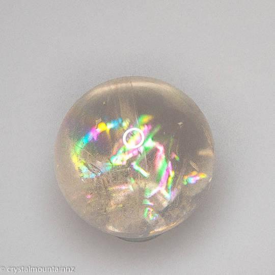 Champagne Quartz Crystal Sphere