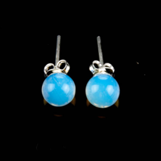 Opalite Stud Earrings