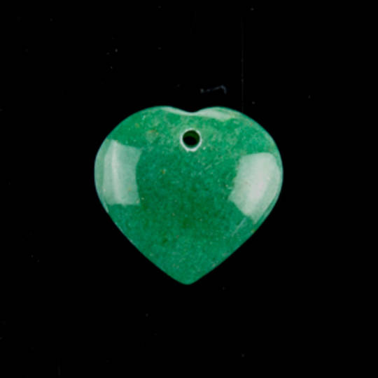 Drilled Aventurine Pendant