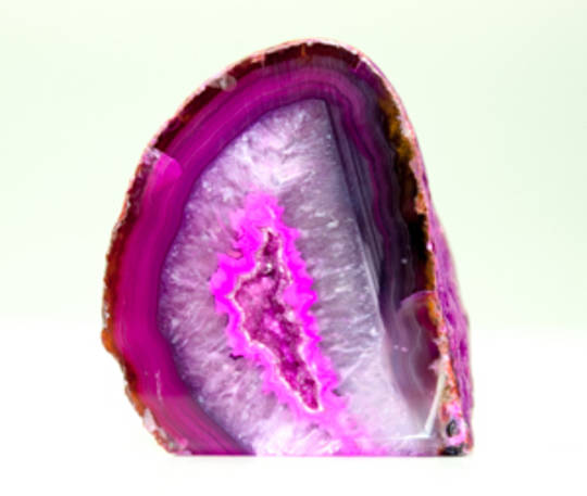 Agate Geode Pink