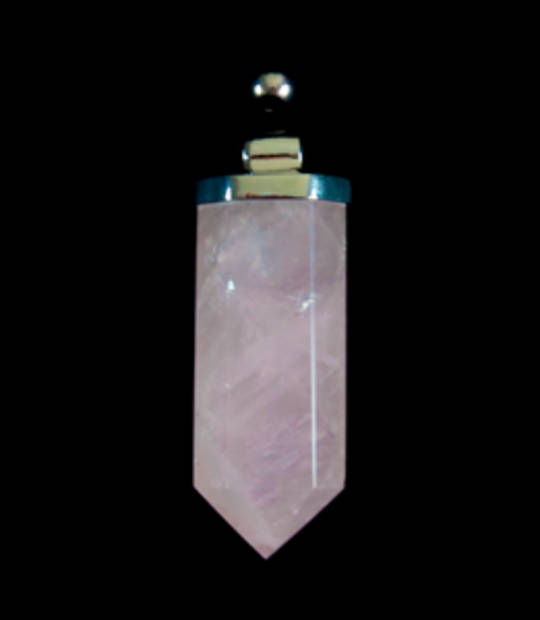 Rose Quartz Point Pendant
