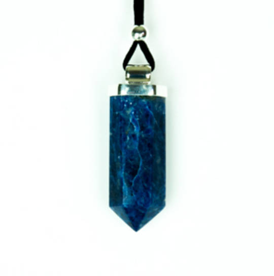 Sodalite Point Pendant