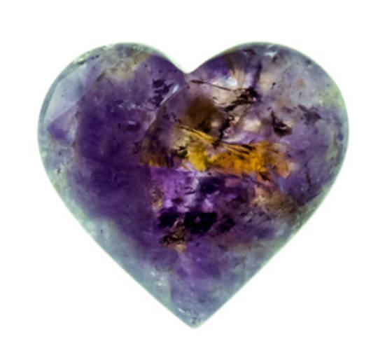 Ametrine Heart