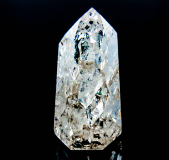 Crackle Quartz Polished Point