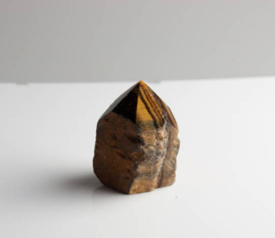 Tigers Eye Semi-Polished Point