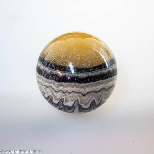 Zebra Calcite Sphere