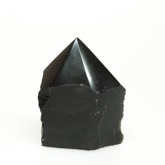 Obsidian Part Polished Point