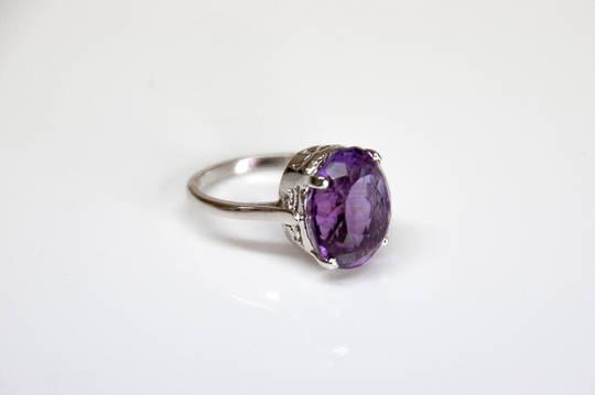 Amethyst Ring.