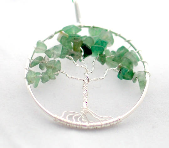 Pendant Tree of Life Aventurine