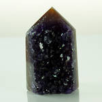 Amethyst Druze Polished Point