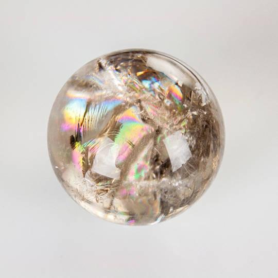 Smokey Quartz Crystal Sphere