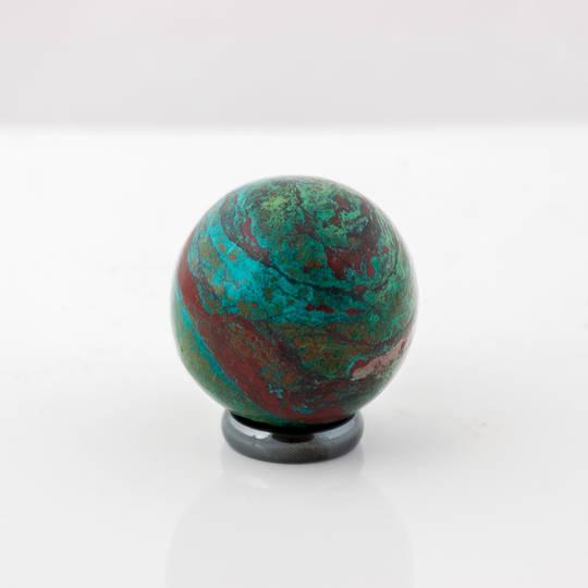 Chrysocolla Polished Sphere