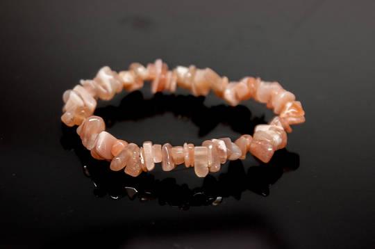 Sunstone Chip Bracelet