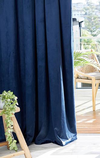 Blanche Pencil Pleat Curtains