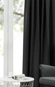Fusion Textures Albany  Pencil Pleat Curtains