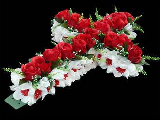 Red Rose Memorial Cross