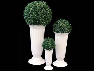 Boxwood Topiary Vases - Set of 3
