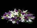 Purple & White Memorial Tribute