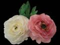 Ranunculus – 2 colours Silk Flowers