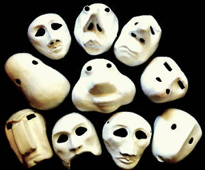 BASEL MASKS  'JUST MASKS' SET  (DOESN'T INCLUDE TEACHING RESOURCES)