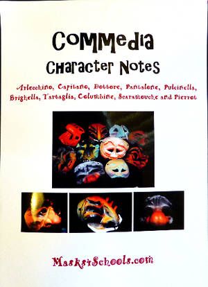 Commedia Masks - Character Notes Book