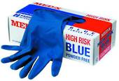 Latex Gloves - High Risk, Powder Free - Packet of 50
