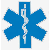 Scotchlite Star of Life Vehicle Decal
