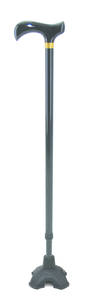 "Mobilis "" T "" Handle Stick with Free Standing Stability Foot fitted"