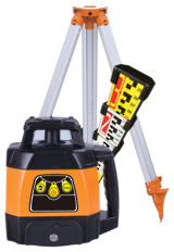 RL400 Rotating Laser Level c/w Staff and Tripod | 519924