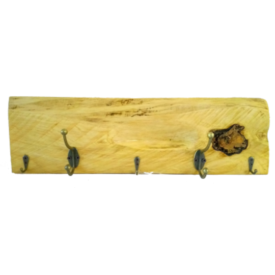 Macrocarpa Coat Rack