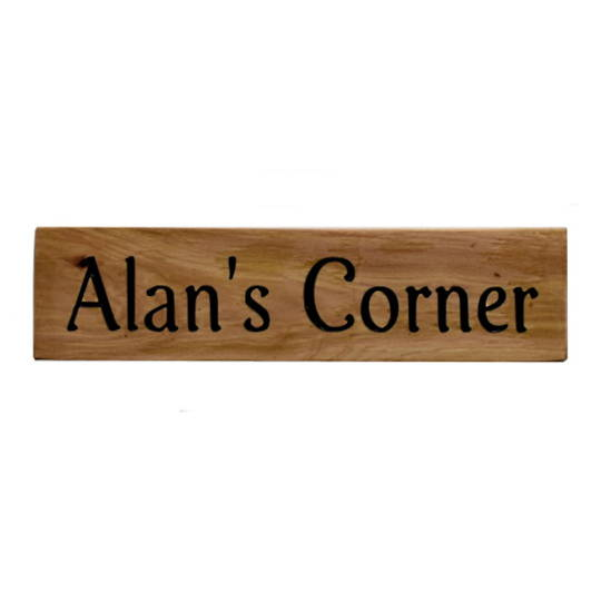 Macrocarpa 'Alan's Corner' Sign