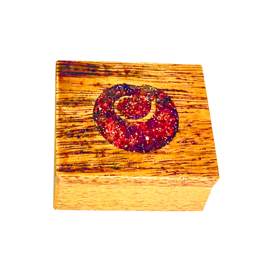 Hardwood Koru Jewellery Box